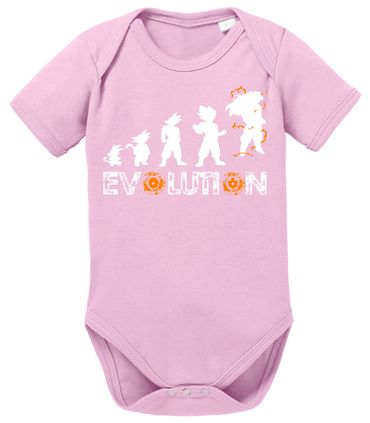 Evolution Dragon Proverbs Ball Son Baby Romper Organic Cotton Bodysuit Boys & Girls 0-12 – Bild 8
