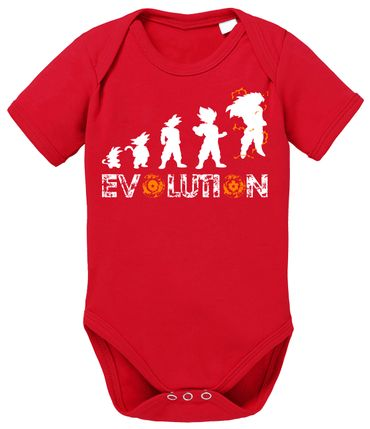 Evolution Dragon Proverbs Ball Son Baby Romper Organic Cotton Bodysuit Boys & Girls 0-12 – Bild 7