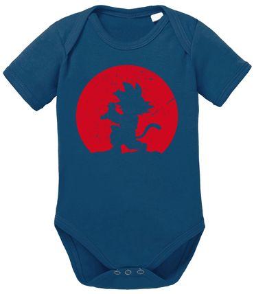 Kame Moon Dragon Proverbs Ball Son Baby Goku Romper Organic Cotton Bodysuit Boys & Girls 0-12 – Bild 1