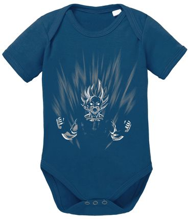 Scream Dragon Proverbs Ball Son Baby Goku Romper Organic Cotton Bodysuit Boys & Girls 0-12 – Bild 2