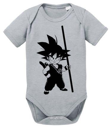 SO Dragon Proverbs Ball Son Baby Goku Romper Organic Cotton Bodysuit Boys & Girls 0-12 – Bild 1