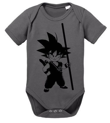 SO Dragon Proverbs Ball Son Baby Goku Romper Organic Cotton Bodysuit Boys & Girls 0-12 – Bild 3