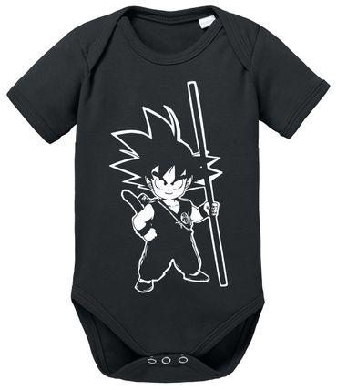 SO Dragon Proverbs Ball Son Baby Goku Romper Organic Cotton Bodysuit Boys & Girls 0-12 – Bild 6