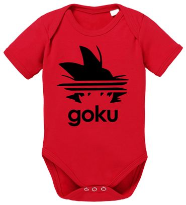 Adi Goku Dragon Son Baby Ball Strampler Bio Baumwolle Body Jungen & Mädchen 0-12 Monate – Bild 2