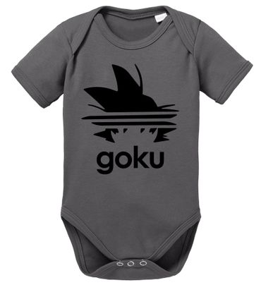 Adi Goku Dragon Proverbs Ball Son Baby Romper Organic Cotton Bodysuit Boys & Girls 0-12 – Bild 6