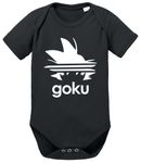 Adi Goku Dragon Proverbs Ball Son Baby Romper Organic Cotton Bodysuit Boys & Girls 0-12 001