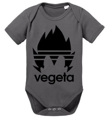 Adi Vegeta Dragon Proverbs Ball Son Baby Romper Organic Goku Cotton Bodysuit Boys & Girls 0-12 – Bild 3