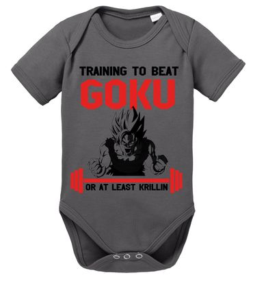 TKR Goku Baby Dragon Proverbs Ball Son Romper Organic Cotton Bodysuit Boys & Girls 0-12 – Bild 2