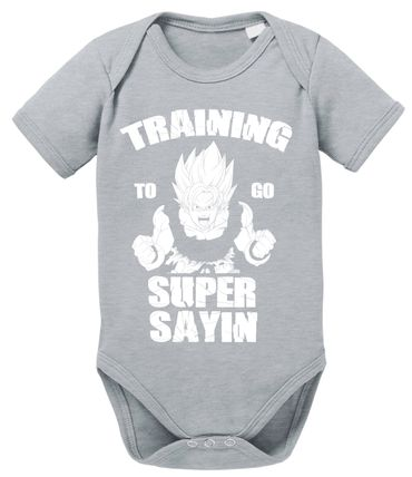 Train SS Goku Baby Dragon Proverbs Ball Son Romper Organic Cotton Bodysuit Boys & Girls 0-12 – Bild 7