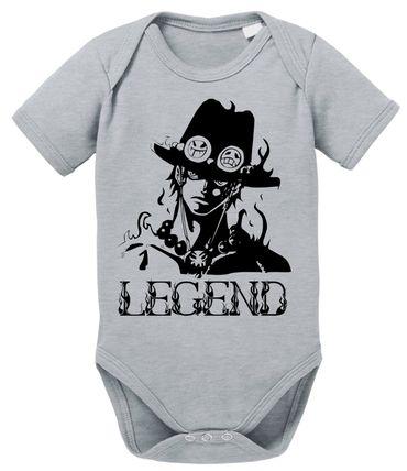 Ace One Baby Strampler White Piece Bio Baumwolle Beard Body Jungen & Mädchen 0-12 Monate – Bild 3