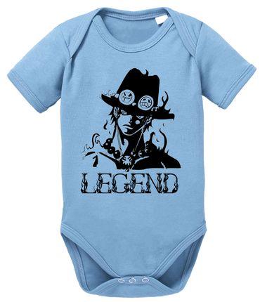 Ace One Baby Strampler White Piece Bio Baumwolle Beard Body Jungen & Mädchen 0-12 Monate – Bild 6