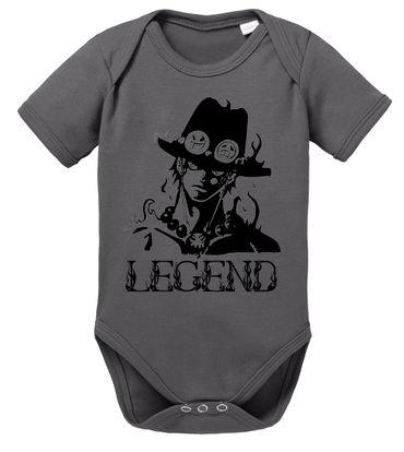 Ace One Baby Strampler White Piece Bio Baumwolle Beard Body Jungen & Mädchen 0-12 Monate – Bild 5