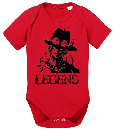 Ace One Baby Proverbs White Piece Romper Organic Beard Cotton Bodysuit Boys & Girls 0-12 – Bild 2
