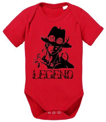 Ace One Baby Strampler White Piece Bio Baumwolle Beard Body Jungen & Mädchen 0-12 Monate – Bild 2