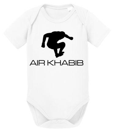 Air Khabib MMA Baby Strampler Bio Baumwolle Body Jungen & Mädchen 0-12 Monate – Bild 2