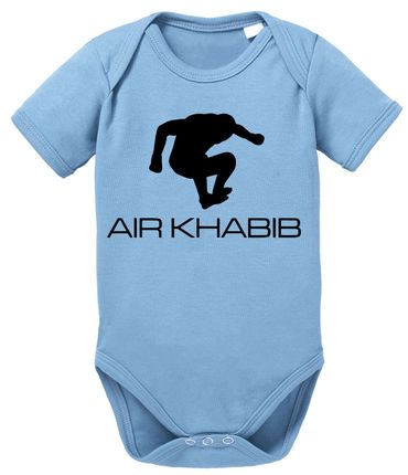 Air Khabib MMA Baby Proverbs Romper Organic Cotton Bodysuit Boys & Girls 0-12 – Bild 8