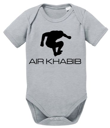 Air Khabib MMA Baby Proverbs Romper Organic Cotton Bodysuit Boys & Girls 0-12