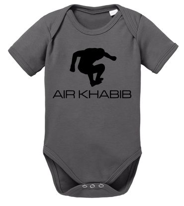 Air Khabib MMA Baby Proverbs Romper Organic Cotton Bodysuit Boys & Girls 0-12 – Bild 3