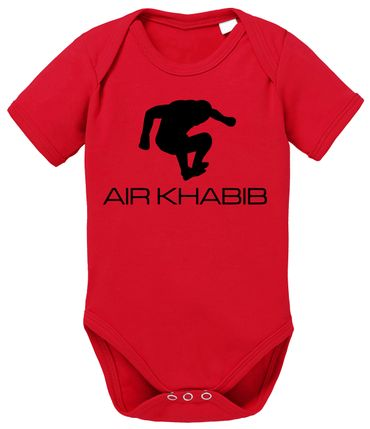 Air Khabib MMA Baby Proverbs Romper Organic Cotton Bodysuit Boys & Girls 0-12 – Bild 4