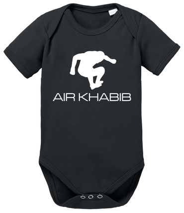 Air Khabib MMA Baby Proverbs Romper Organic Cotton Bodysuit Boys & Girls 0-12 – Bild 6