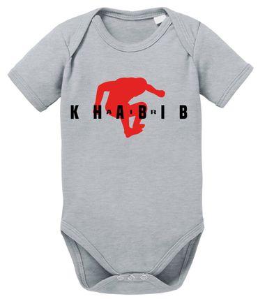 Air Khabib II MMA Baby Strampler Bio Baumwolle Body Jungen & Mädchen 0-12 Monate – Bild 3