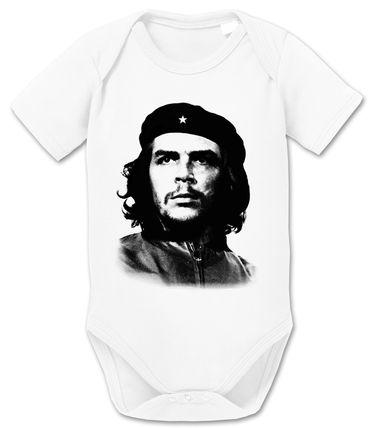 Che Guev  Baby Strampler Bio Baumwolle Guevara Body Jungen & Mädchen 0-12 Monate – Bild 3