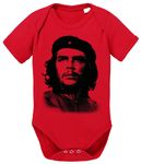 Che Guev Baby Proverbs Guevara Romper Organic Cotton Bodysuit Boys & Girls 0-12 001