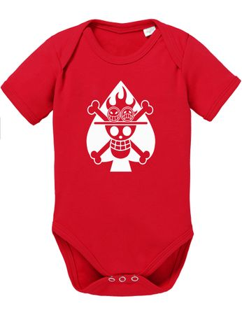 Ace Logo One Baby Proverbs White Piece Romper Organic Beard Cotton Bodysuit Boys & Girls 0-12 – Bild 6