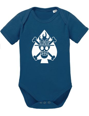 Ace Logo One Baby Proverbs White Piece Romper Organic Beard Cotton Bodysuit Boys & Girls 0-12 – Bild 4