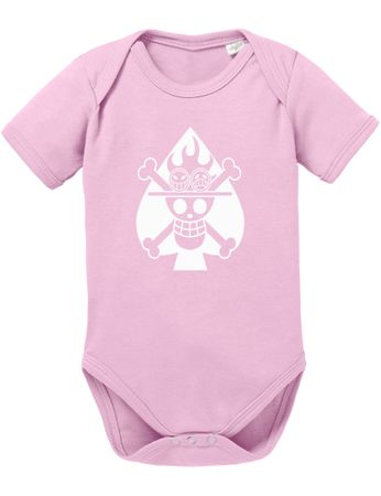 Ace Logo One Baby Proverbs White Piece Romper Organic Beard Cotton Bodysuit Boys & Girls 0-12 – Bild 5