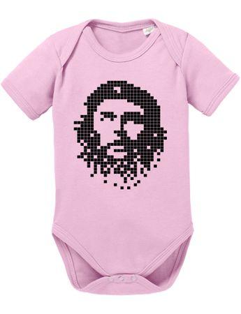 Che Pixel Chev Baby Strampler Bio Baumwolle Guevara Body Jungen & Mädchen 0-12 Monate – Bild 5