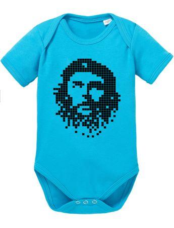 Che Pixel Chev Baby Strampler Bio Baumwolle Guevara Body Jungen & Mädchen 0-12 Monate – Bild 3