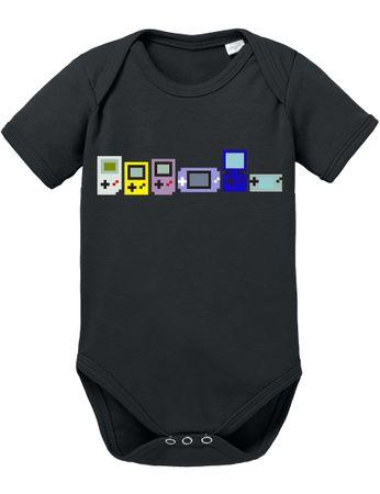 Gamer Evoloution Baby PS Proverbs Romper Organic Cotton Station Bodysuit Boys & Girls 0-12 – Bild 5