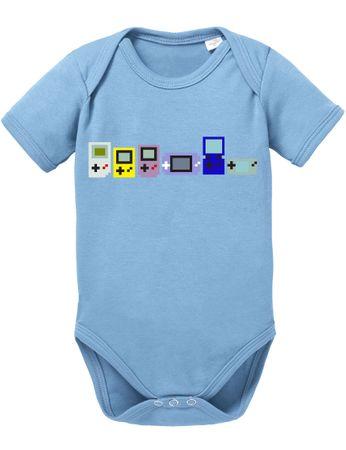 Gamer Evoloution Baby PS Proverbs Romper Organic Cotton Station Bodysuit Boys & Girls 0-12 – Bild 8