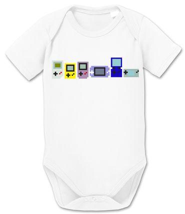 Gamer Evoloution Baby PS Proverbs Romper Organic Cotton Station Bodysuit Boys & Girls 0-12 – Bild 9