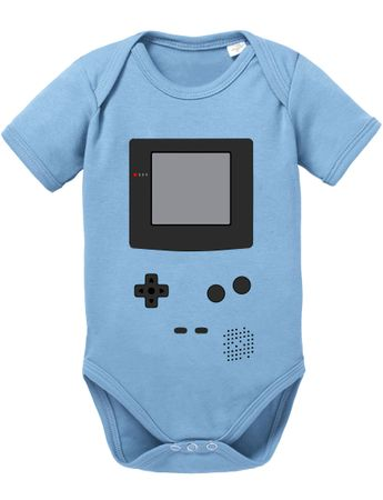 Game Color Baby PS Proverbs Romper Organic Cotton Station Bodysuit Boys & Girls 0-12 – Bild 1