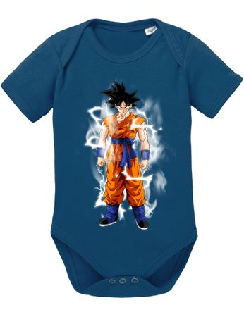 Goku Blitz Baby Dragon Proverbs Ball Son Romper Organic Cotton Bodysuit Boys & Girls 0-12 – Bild 3