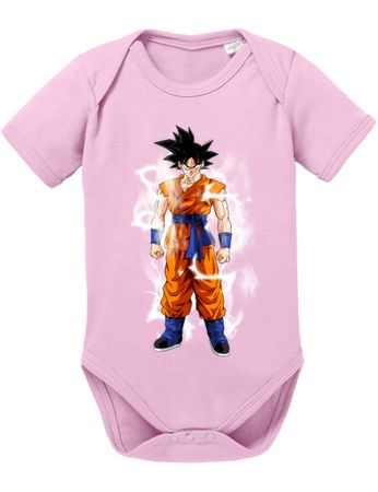 Goku Blitz Baby Dragon Proverbs Ball Son Romper Organic Cotton Bodysuit Boys & Girls 0-12 – Bild 6