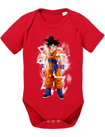 Goku Blitz Baby Dragon Proverbs Ball Son Romper Organic Cotton Bodysuit Boys & Girls 0-12 – Bild 5