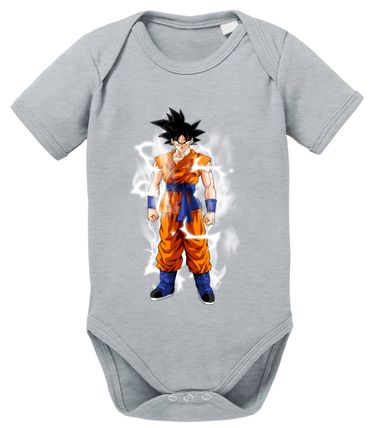Goku Blitz Baby Dragon Proverbs Ball Son Romper Organic Cotton Bodysuit Boys & Girls 0-12 – Bild 9