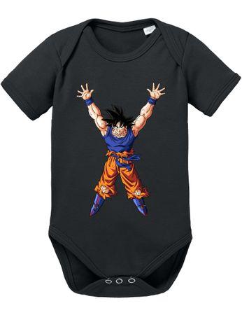 Goku Power Baby Dragon Proverbs Ball Son Romper Organic Cotton Bodysuit Boys & Girls 0-12 – Bild 2
