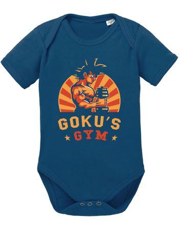 Goku Retro Baby Dragon Proverbs Ball Son Romper Organic Cotton Bodysuit Boys & Girls 0-12 – Bild 2