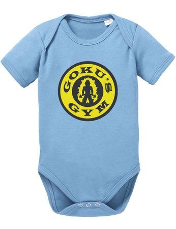Goku Gym Baby Dragon Proverbs Ball Son Romper Organic Cotton Bodysuit Boys & Girls 0-12 – Bild 1