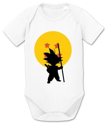 Goku Star Baby Dragon Proverbs Ball Son Romper Organic Cotton Bodysuit Boys & Girls 0-12 – Bild 7