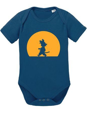 Goku Walk Baby Dragon Proverbs Ball Son Romper Organic Cotton Bodysuit Boys & Girls 0-12 – Bild 3