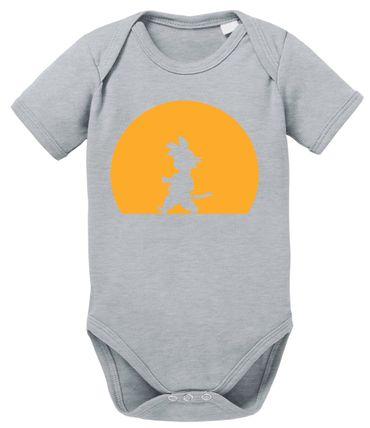 Goku Walk Baby Dragon Proverbs Ball Son Romper Organic Cotton Bodysuit Boys & Girls 0-12 – Bild 8