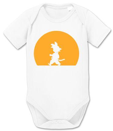 Goku Walk Baby Dragon Proverbs Ball Son Romper Organic Cotton Bodysuit Boys & Girls 0-12 – Bild 9