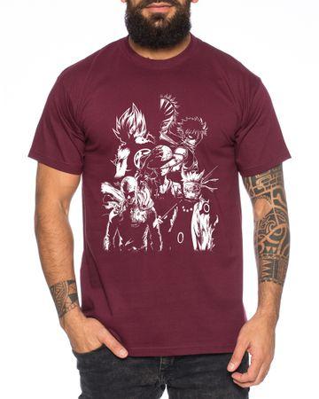 Heroes One Manga Men's T-Shirt Anime Piece – Bild 5