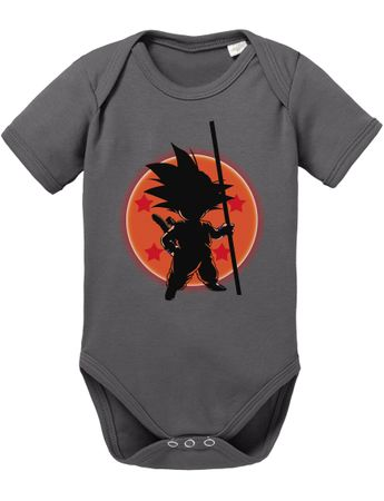 Son Ball Baby Dragon Proverbs Ball Goku Romper Organic Cotton Bodysuit Boys & Girls 0-12 – Bild 4