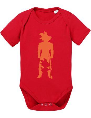 Son in Son Baby Dragon Proverbs Ball Goku Romper Organic Cotton Bodysuit Boys & Girls 0-12 – Bild 5